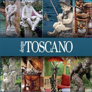design toscano, toscano, walking sticks, garden statues