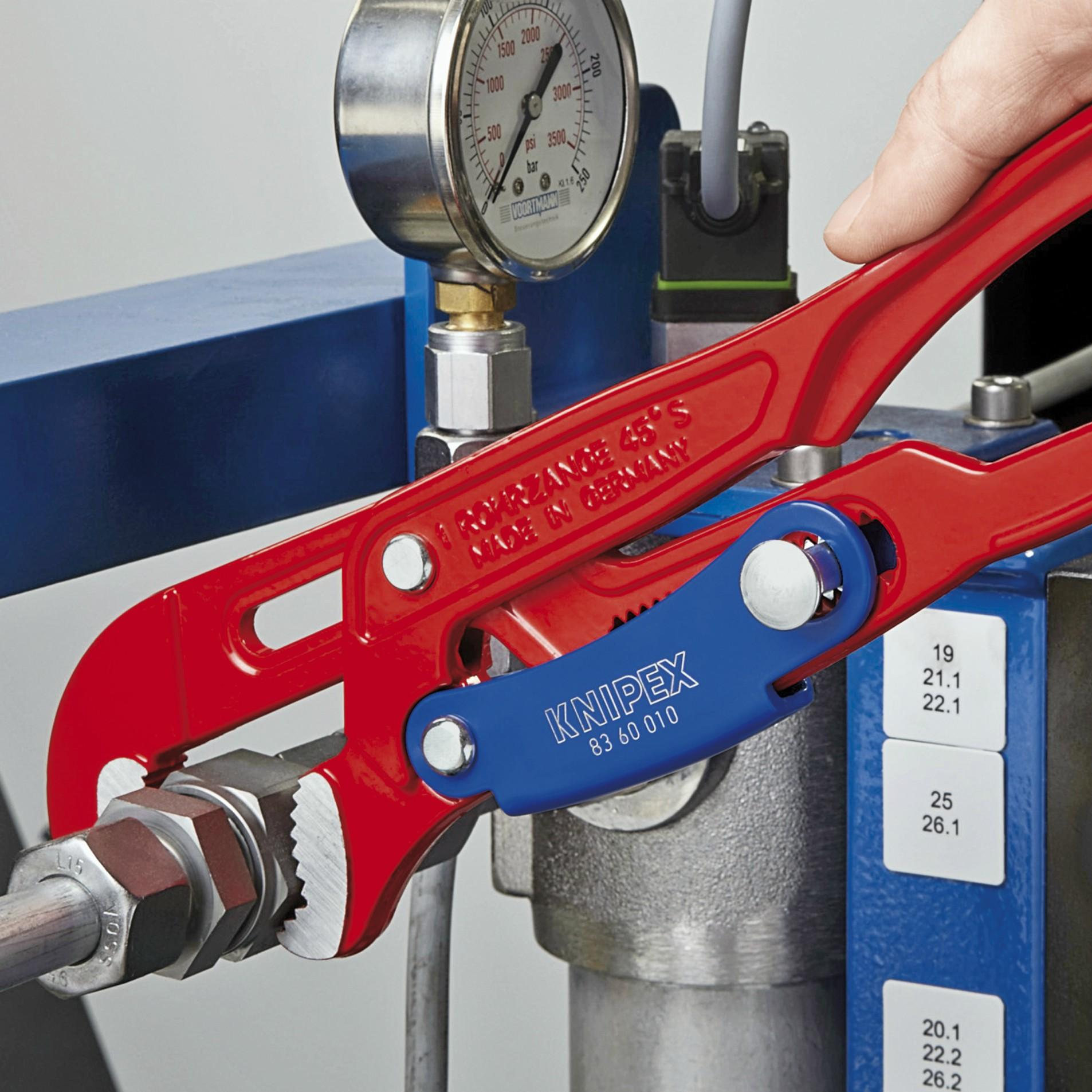 KNIPEX 83 30 020 Swedish Pattern Pipe Wrench-S Shape