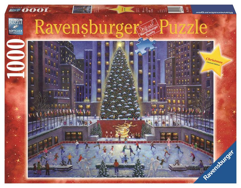 Amazon.com: NYC Christmas Puzzle, 1000-Piece: Toys & Games