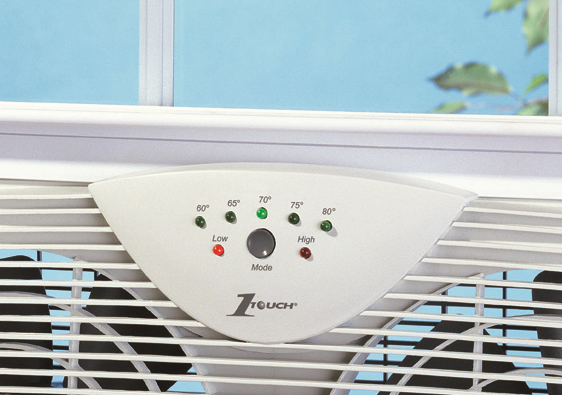Amazon Com Holmes Dual 8 Quot Blade Twin Window Fan With Led