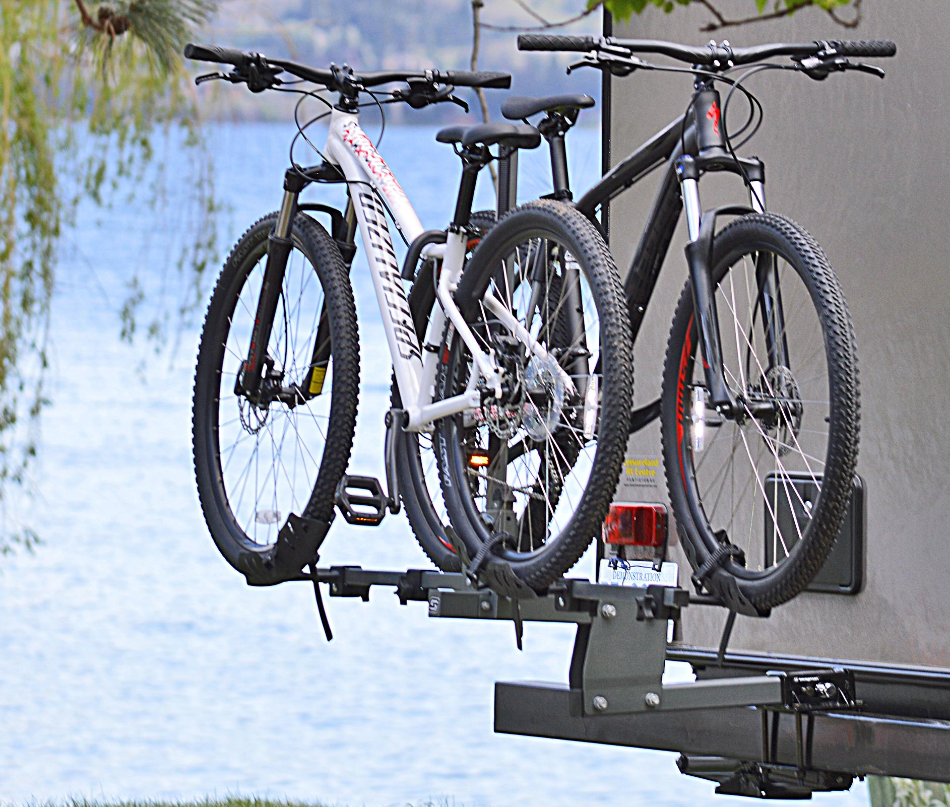 Fifth Wheel Bike Carrier Bumpers : Swagman bicycle carriers non folding bike dispatch grey