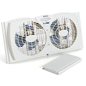 Excellent Amazon Com Holmes Window Fan With With Twin 6 Inch Reversible Wiring Cloud Pendufoxcilixyz