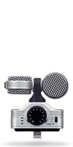 Zoom iQ6 iOS Lightning X/Y Microphone 23