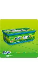 Amazon Com Swiffer Sweeper Wet Mopping Cloth Multi