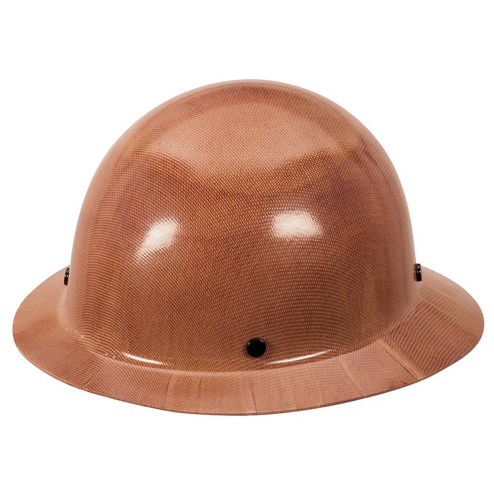 MSA 462638 Skullgard Protective Hard Hat Front Brim, Staz-on Suspension,  Small Size, Natural Tan