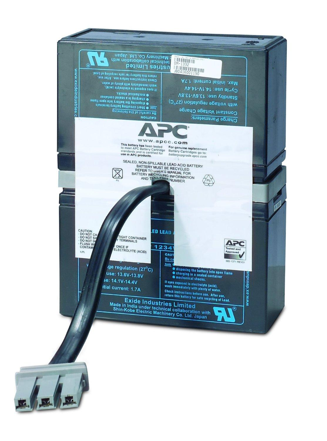 Apc Rbc33 Replacement Battery Cartridge 33 Buy 500 Wiring Diagram From The Manufacturer