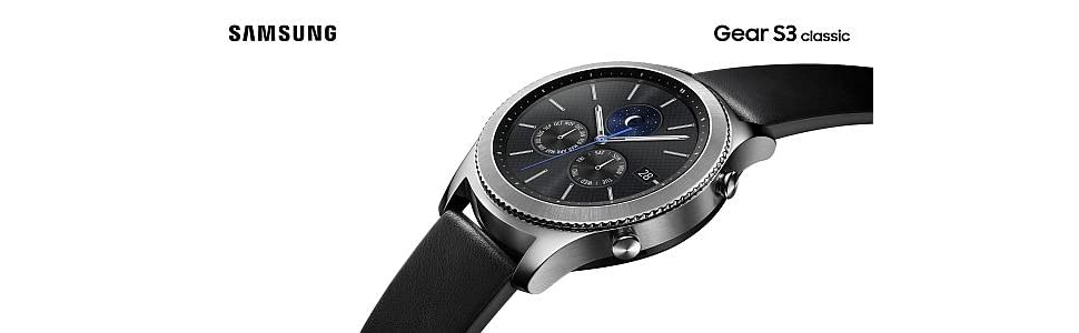 873c9d476e0 Amazon.com  Samsung MAIN-36164 Gear S3 Classic  Cell Phones ...