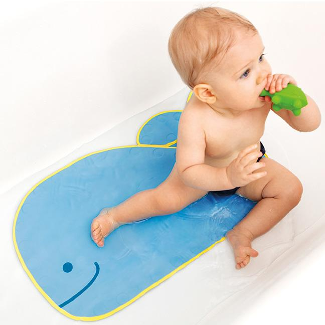 Amazoncom Skip Hop Moby Bathmat With Suction Base Blue Non