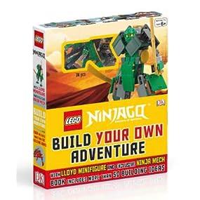 Amazon.com: LEGO® NINJAGO: Build Your Own Adventure: With ...