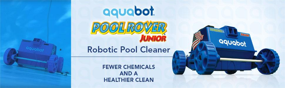 Amazon Com Aquabot Aprvjr Pool Rover Junior Robotic