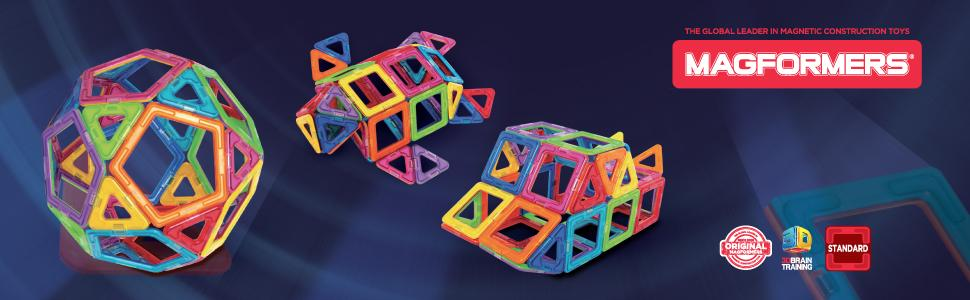 Magformers magnetic construction