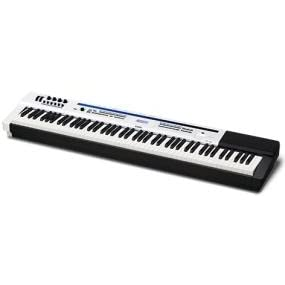 casio px 5s 88 key privia pro digital stage piano with power supply musical instruments. Black Bedroom Furniture Sets. Home Design Ideas