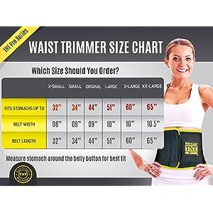 TNT Pro Series Waist Trimmer Weight Loss Ab Belt BRAND NEW!