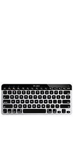Logitech K380 Bluetooth Keyboard (Dark Grey) - 920-007558: Amazon ca