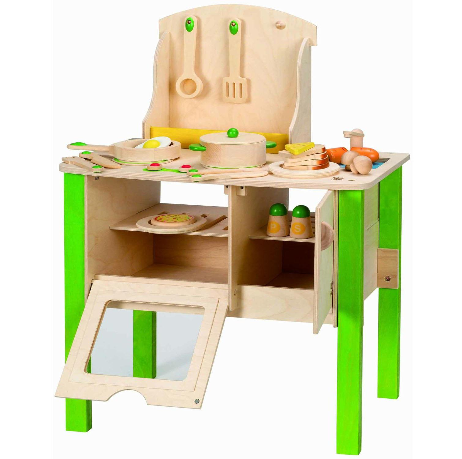Hape Playfully Delicious Cook N Serve Kitchen Wooden Play Set
