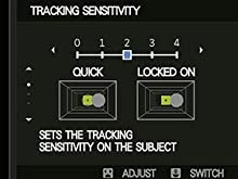 Tracking Sensitivity