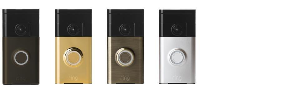 A Finish for Every Home  sc 1 st  Amazon.com & Amazon.com: Ring Wi-Fi Enabled Video Doorbell in Satin Nickel Works ...