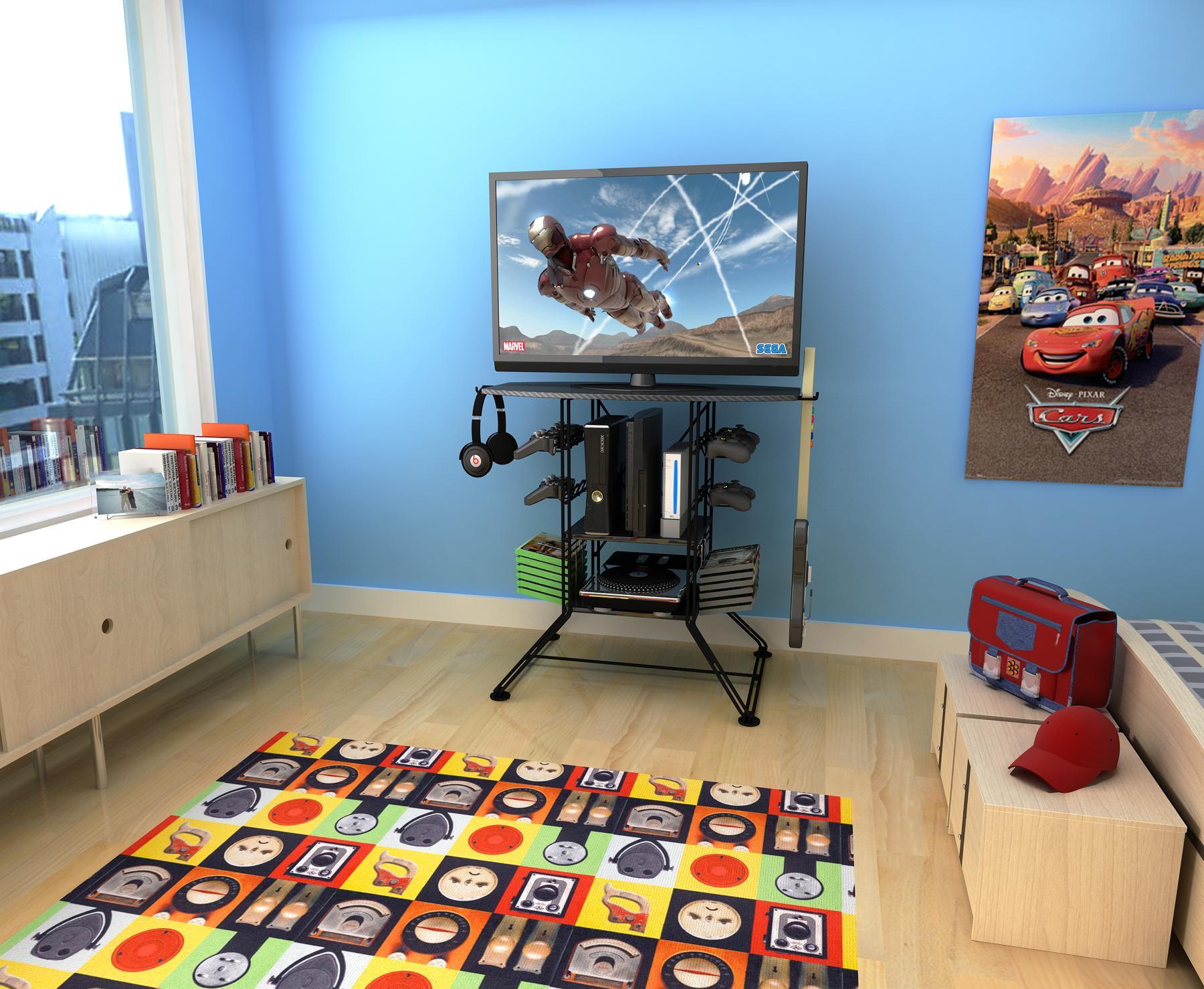 Amazon Com Atlantic Centipede Game Storage Tv Stand 37 Tv Stand