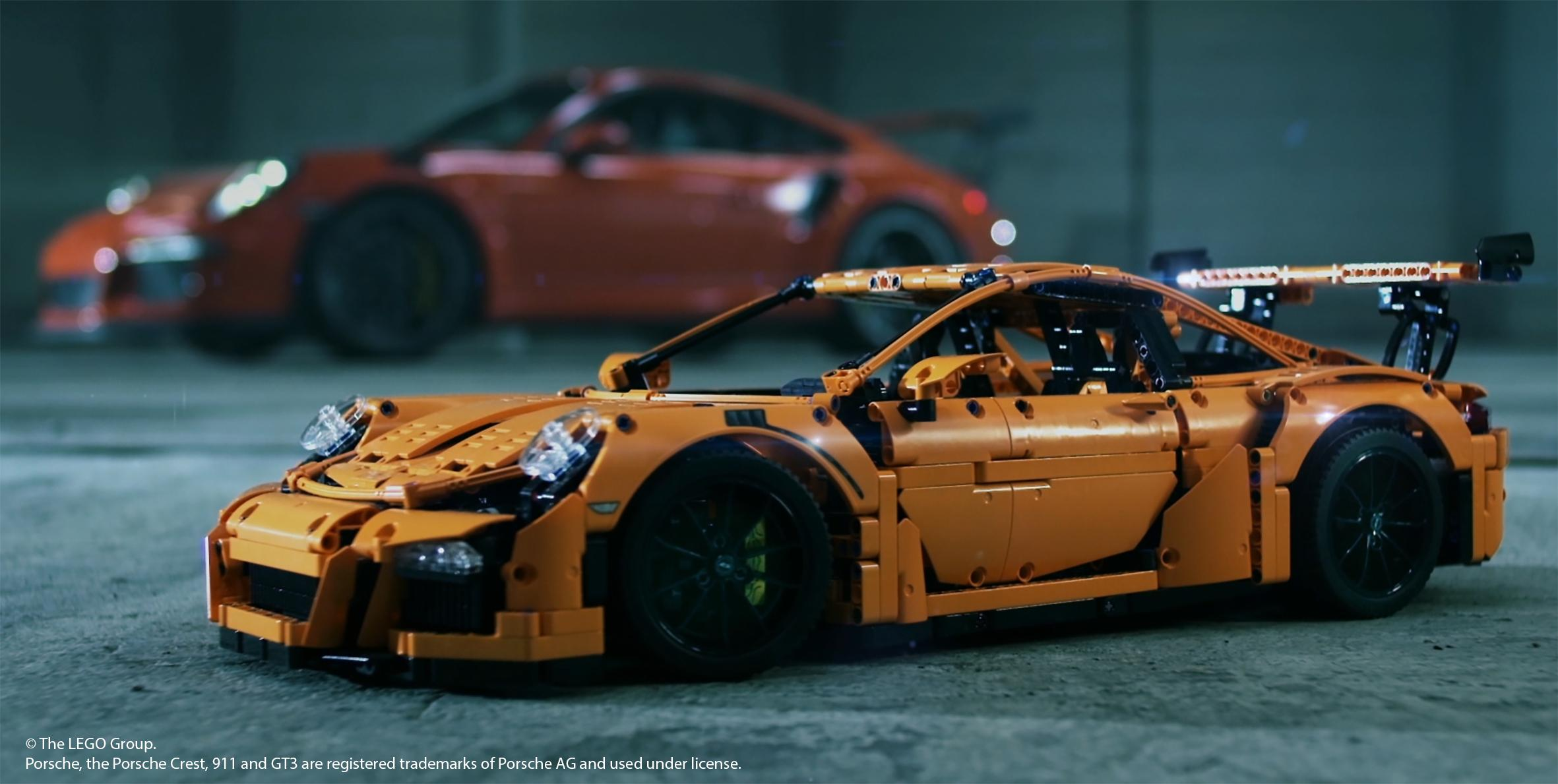 lego technic porsche 911 gt3 rs 42056 model 6 x 22 x 9. Black Bedroom Furniture Sets. Home Design Ideas