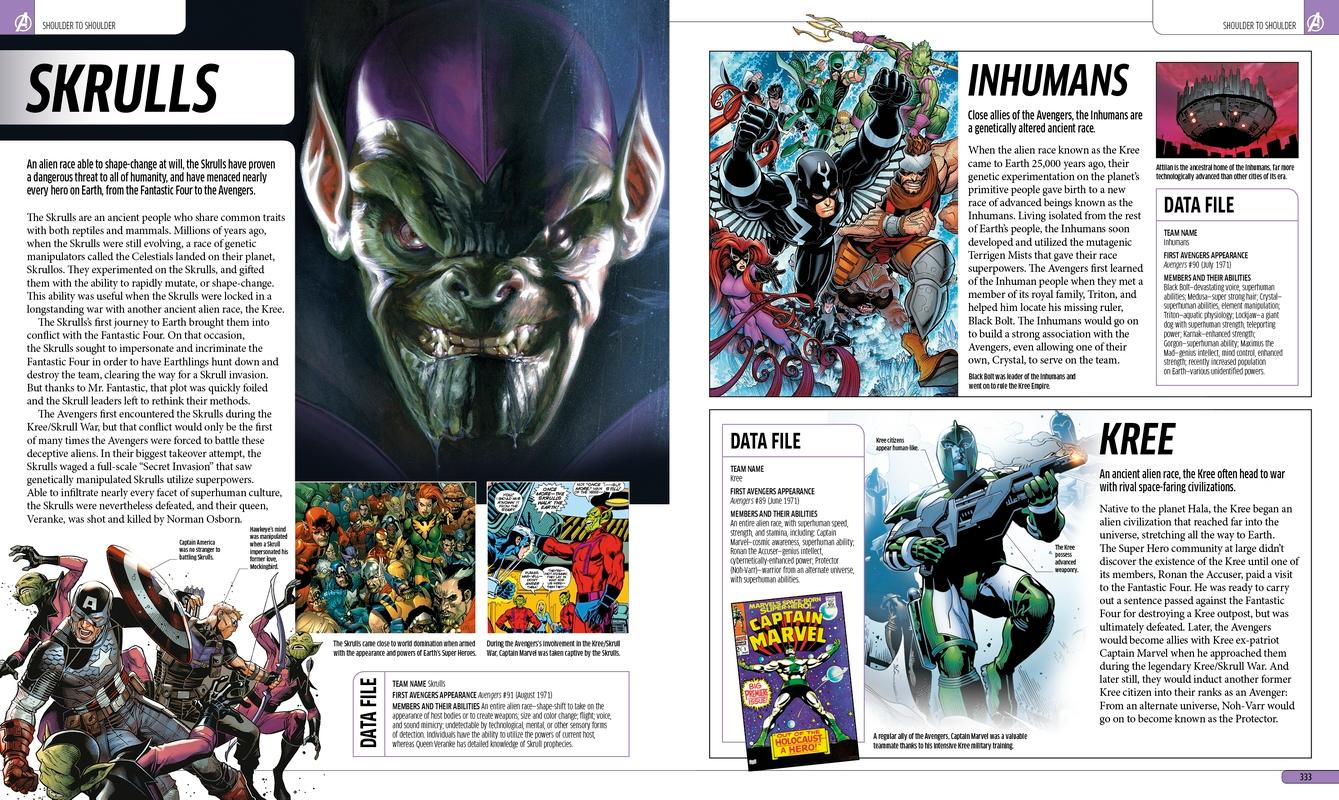 Marvel's The Avengers Encyclopedia: Matt Forbeck, Daniel