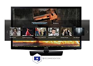 samsung un24h4500 24 inch 720p 60hz smart led tv electronics. Black Bedroom Furniture Sets. Home Design Ideas
