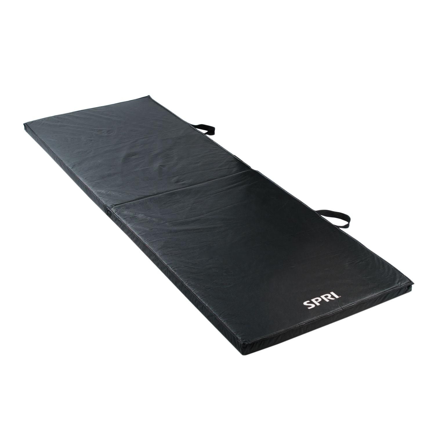 SPRI Fitness Folding Exercise Mat, 60-Inch, Exercise Mats