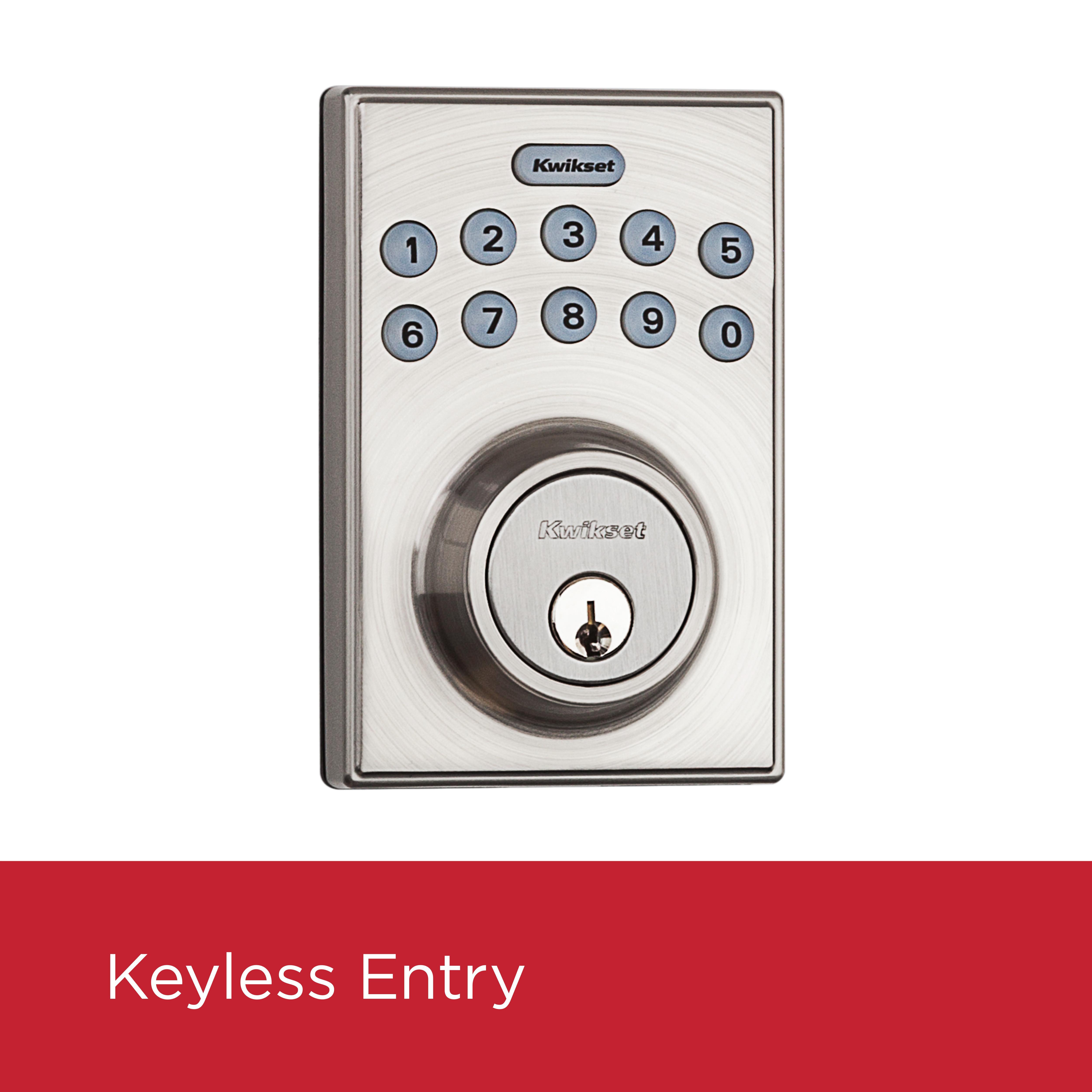 Kwikset 92640 001 Contemporary Electronic Keypad Single