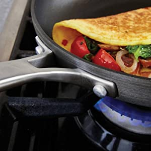 Calphalon Classic Nonstick 12-Inch Fry Pan with Cover - Versatile Fry Pan