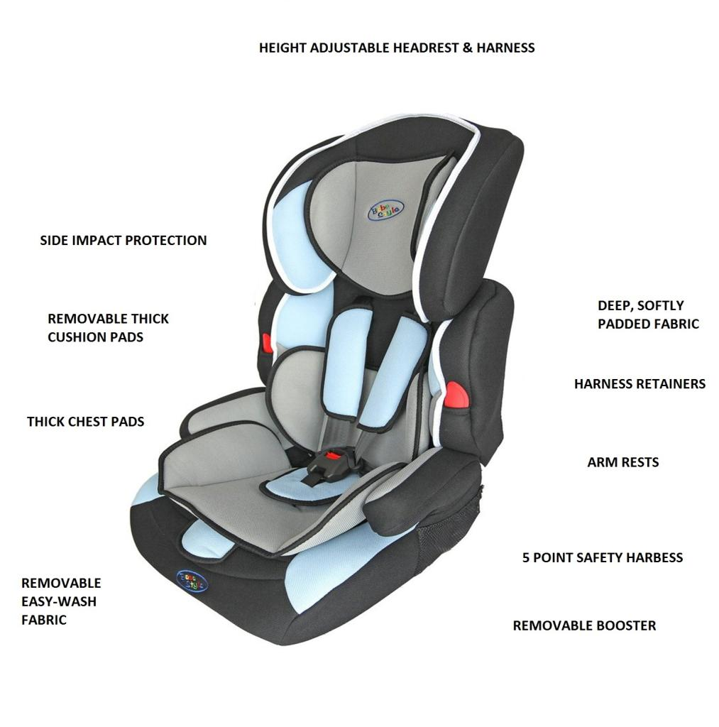 Admirable Bebe Style Deluxe Group 1 2 3 Combination Car Seat Blue Uwap Interior Chair Design Uwaporg
