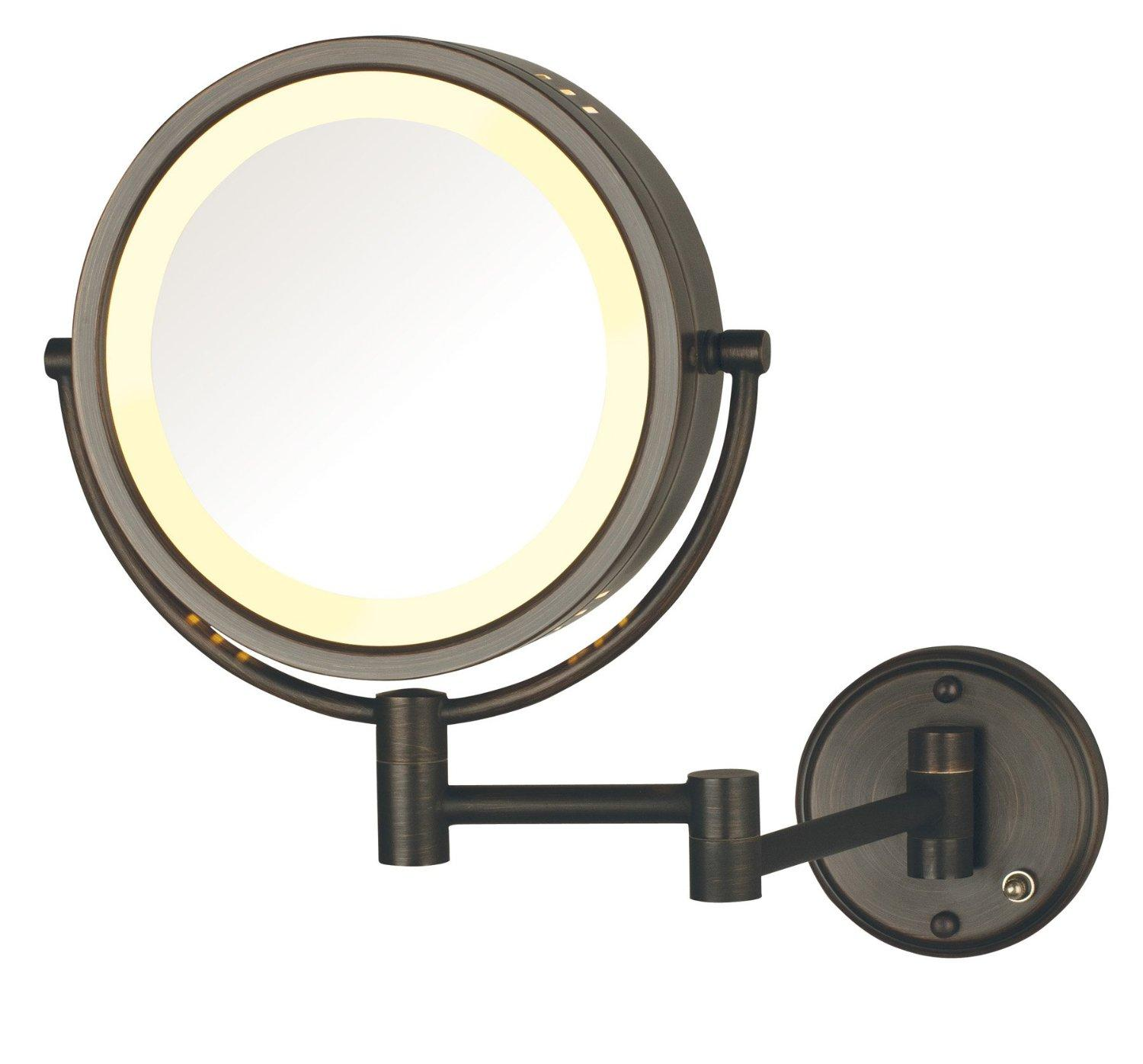 Jerdon Mounted Mirror Wiring Diagram Start Building A Amazon Com Hl75bzd 8 5 Inch Lighted Direct Wire Wall Mount Rh