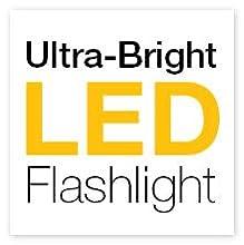 led, flashlight, high powered strobe
