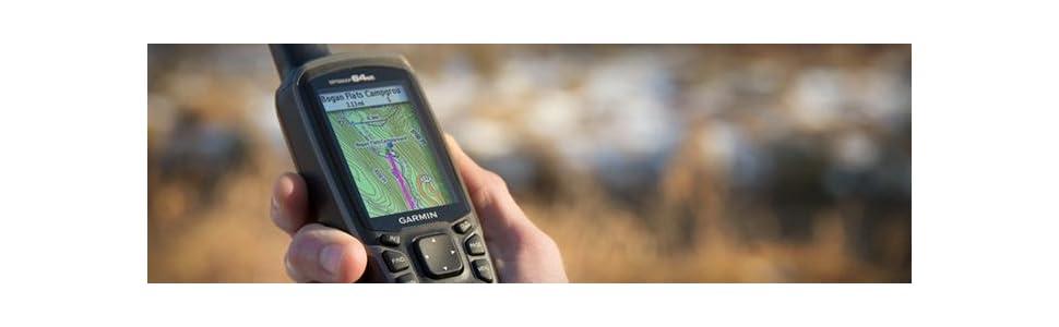 Amazon.com: Garmin GPSMAP 64st, TOPO U.S. 100K with High