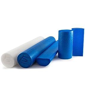 ProSource Flex Foam Roller, Yoga Roller, Running, Crossfit, Pilates excercise foam roller
