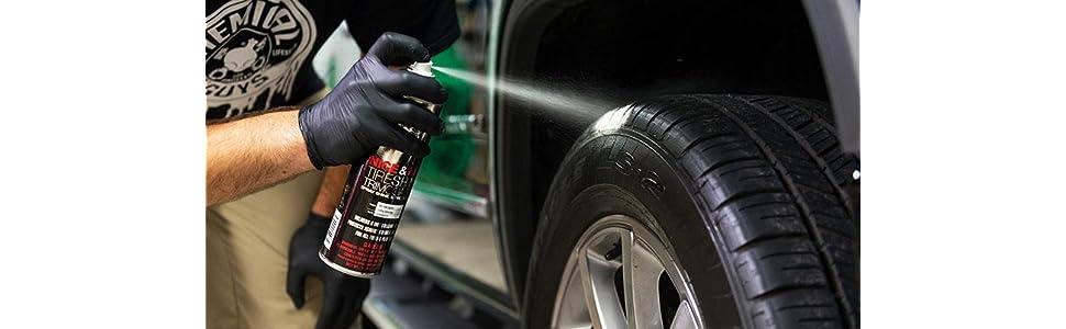2 Aplicadores Para Neumáticos /& Parachoques Car Pride-Neumático Negro restaura Neumáticos