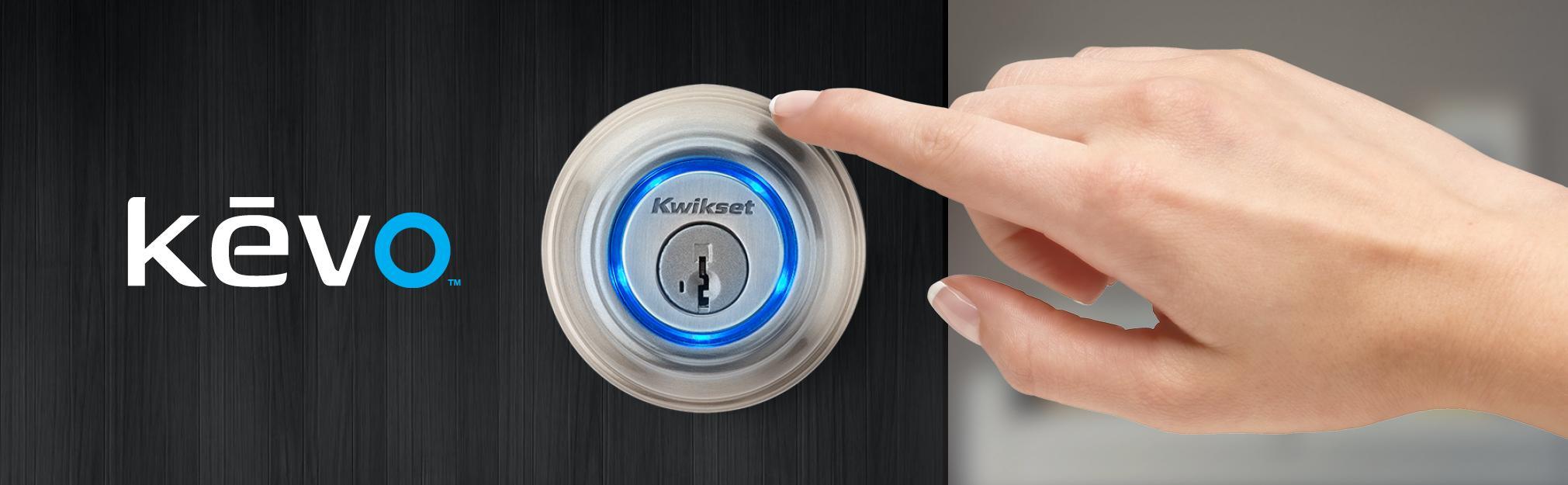 Kwikset Kevo 99250 203 Kwikset Kevo 2nd Gen Touch To Open Bluetooth Smart Lock Works With