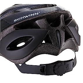 Schwinn, Pacific Cycle, Schwinn Thrasher Helmet, Dial Fit, Adult Helmet, Microshell, Bicycle Helmet