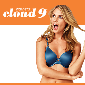 119c94d2c5 Warner s Women s Cloud 9 Underwire Contour Bra at Amazon Women s ...