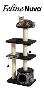 Feline Nuvo Cat Tower