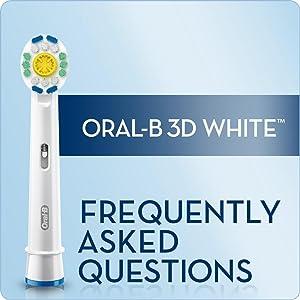 faq, whiten teeth, teeth whitening, oral b, whitening toothbrush, oral health