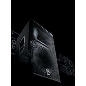 yamaha dxr12 1100 watt 1x12 inch 2 way powered loudspeaker musical instruments. Black Bedroom Furniture Sets. Home Design Ideas