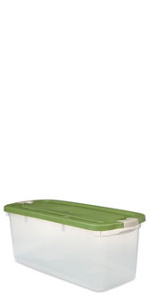 Amazon Com Rubbermaid 1859806 Access Storage Tote Large