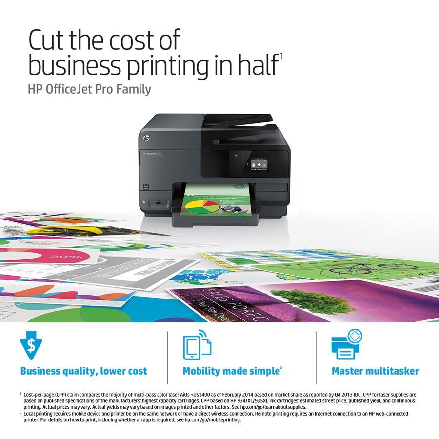 Amazonin Buy HP Officejet Pro 8610 e All in One Printer Online