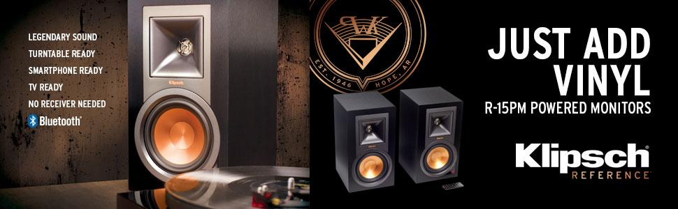 klipsch powered speakers. from the manufacturer klipsch powered speakers