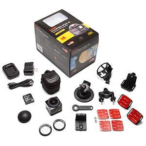 Amazon Com Kodak Pixpro Sp360 4k Dual Pro Pack Vr Camera Camera Photo
