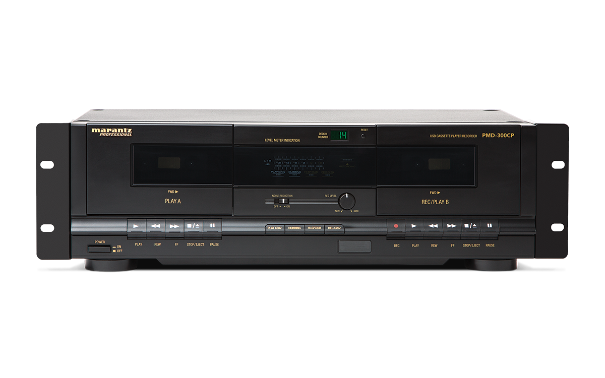 marantz professional pmd 300cp dual cassette player. Black Bedroom Furniture Sets. Home Design Ideas