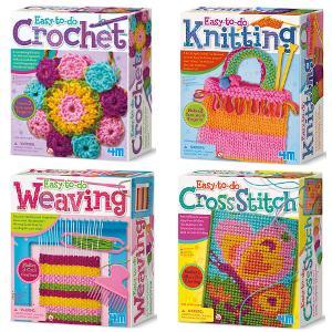 Wearable Art Kids Activity Kit Craft Kit Crochet Belt Kids Accessories Kids Crochet Necklace