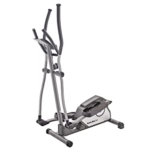 LCD Display Magnetic Brake System ISE Elliptical Cross Trainer Magnetic Exercise Bike 8 Resistance Levels 8 KG Inertia Weight SY-9801 Compatible Ergometer