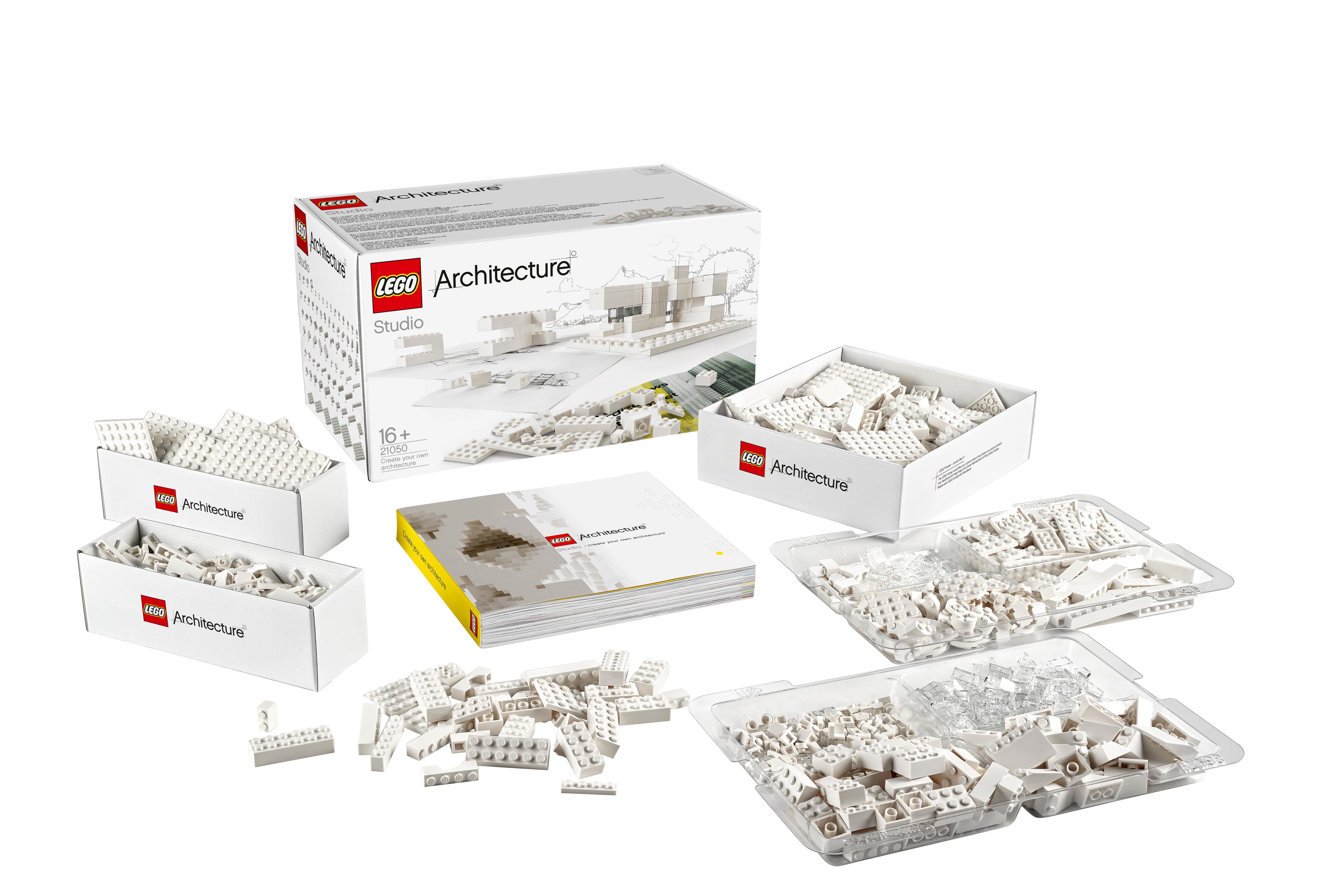 LEGO Architecture Studio Building Blocks Set Building Sets