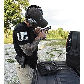 tactical handgun case, handgun magazine holder, M&P handgun case, M&p shield case, revolver case,m&p