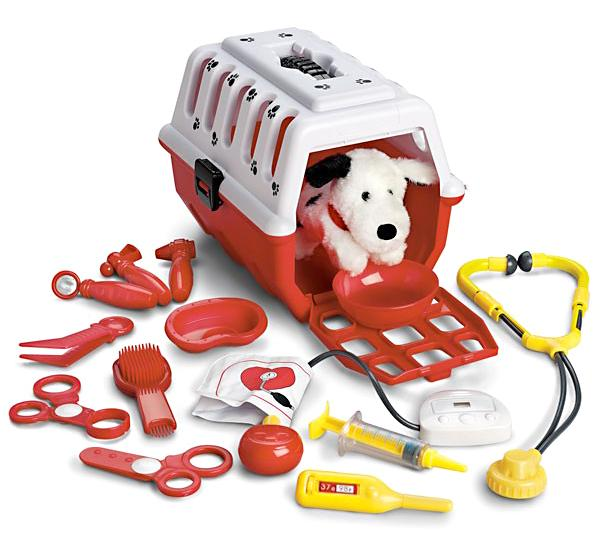 1d204e872 Amazon.com: Dalmatian Vet Kit, 15-Piece: Toys & Games